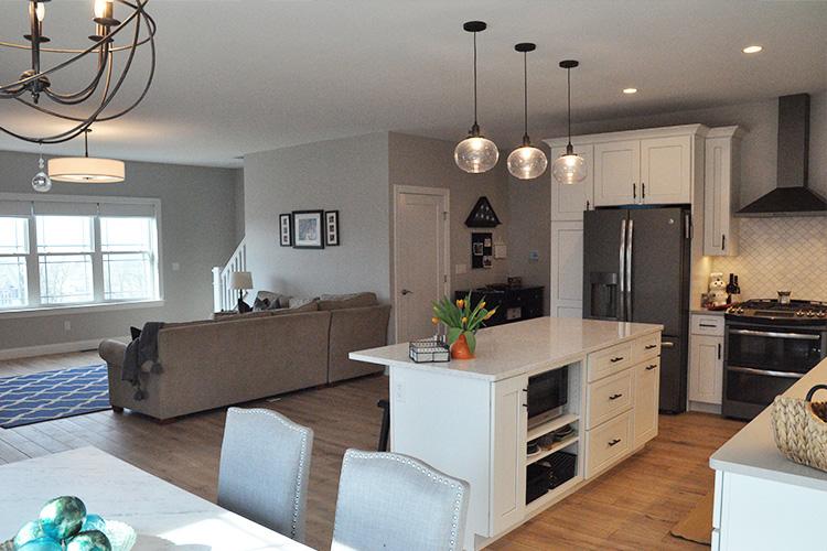 Open concept custom home