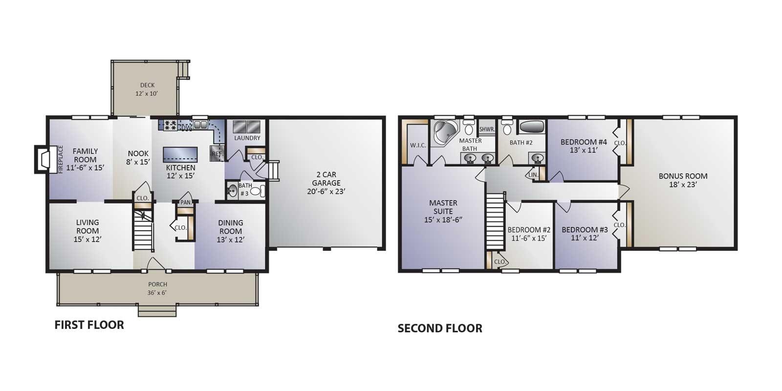 Bentley Model Floor Plan