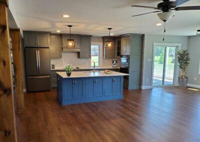 Arden Model Home Kitchen