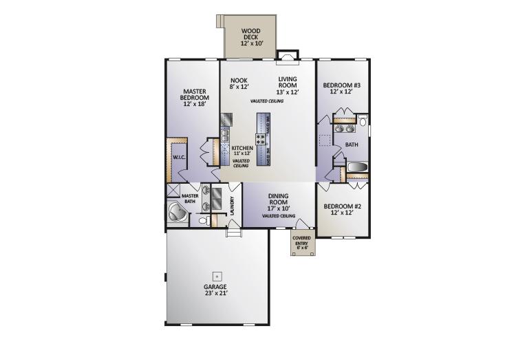The Arden Model Floor Plan