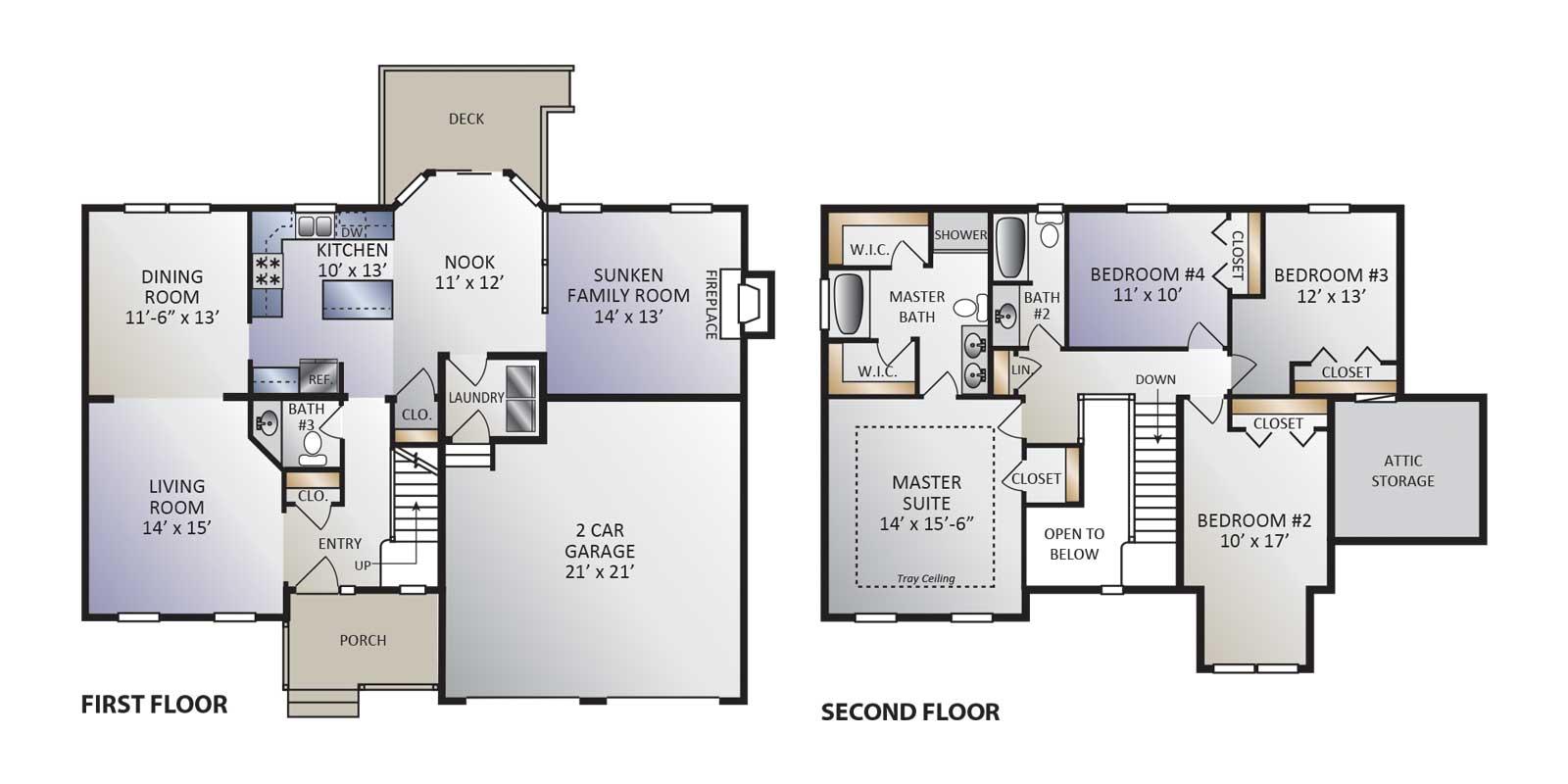 Ashton Model Floor plan
