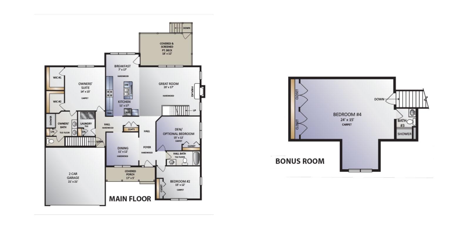 Beverly Model floor plan