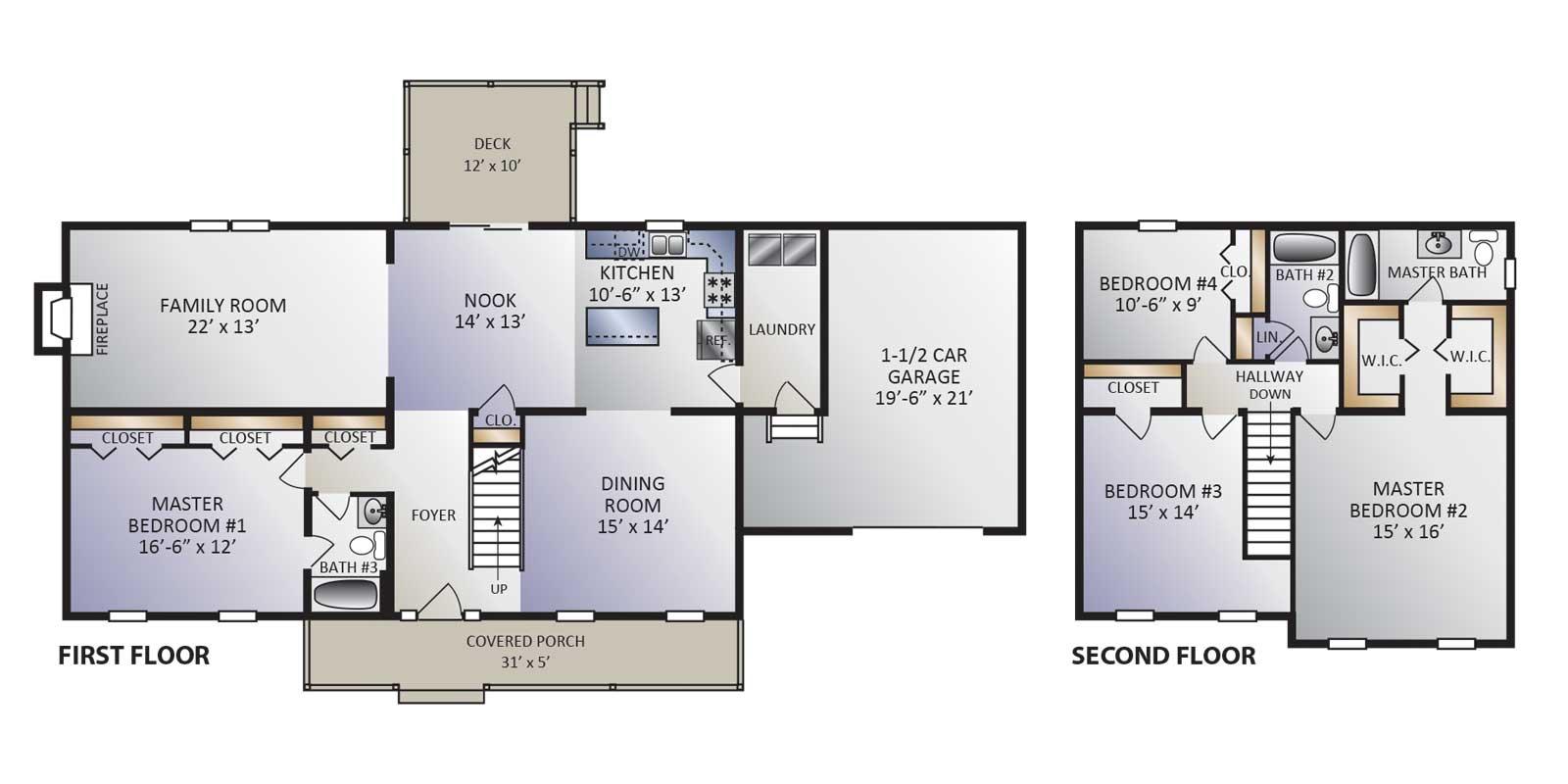 Clearview model floor plan